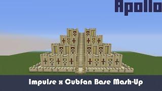 Impulse x Cubfan Hermitcraft Base Mash-Up - Minecraft Base Timelapse