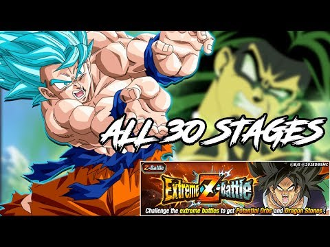 ALL 30 STAGES OF BROLY LIVE!! 34,000 ORBS REWARDS!!  | DRAGON BALL Z DOKKAN BATTLE