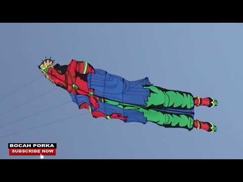 Layang-layang 2D Cilacap Kite Festival 2018