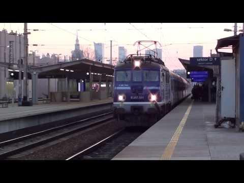 """TLK 12011, D68 """"Kiev-Express"""" Warszawa Zachodnia - Kiev Pass. Wjazd i odjazd z Warszawy Wschodniej"""