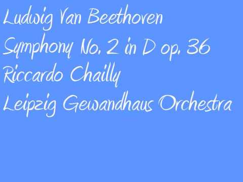 Ludwig Van Beethoven Riccardo Chailly Symphony no  2 in D