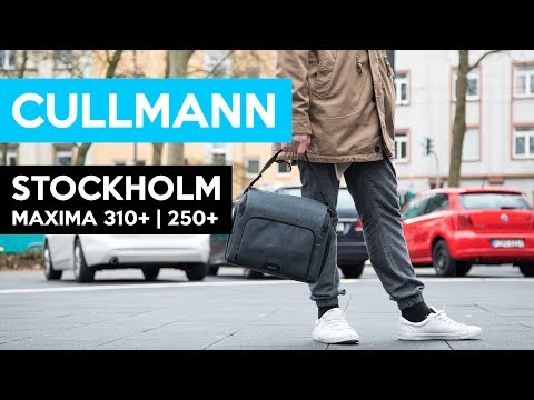 CULLMANN Stockholm Maxima 310+ vs 250+ | great camera bags for young people