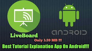 LiveBoard - Best App For Android | Must Have!!!