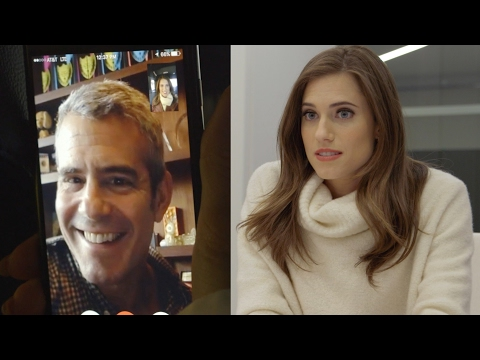Katy Perry and Andy Cohen Help Allison Williams in a Crisis  Allure