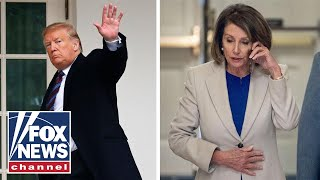 Media praise Pelosi, rip Trump for shutdown spat