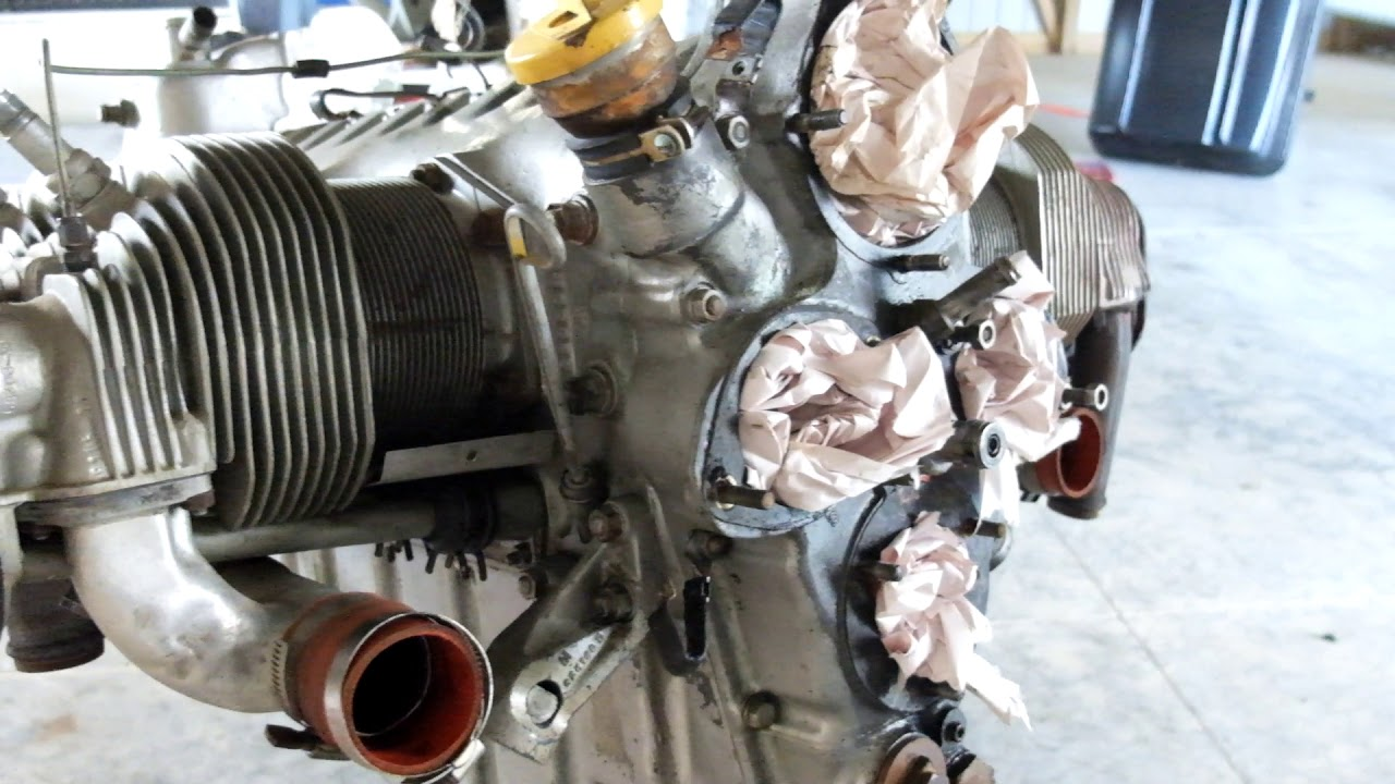 Cessna 175 Continental GO-300 Engine for sale 1332 Total Time