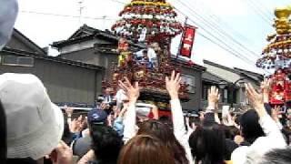 富山県高岡市 伏木曳山祭 http://yuuta.at-ninja.jp/