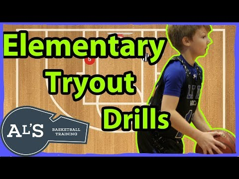 Basketball Tryout Drills For Elementary Basketball Teams