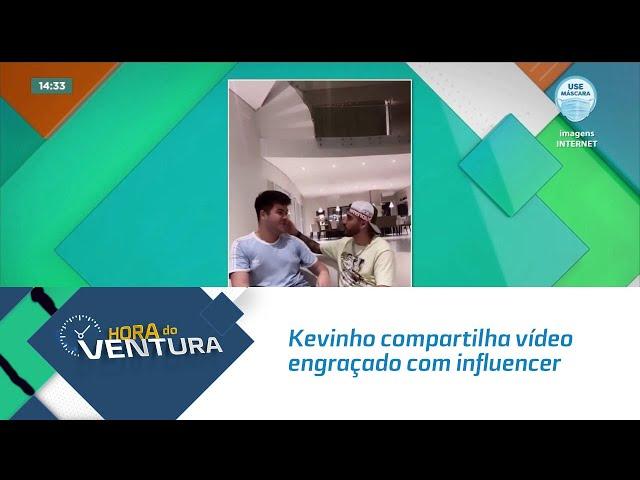 Kevinho compartilha vídeo engraçado com influencer alagoano Alvxaro