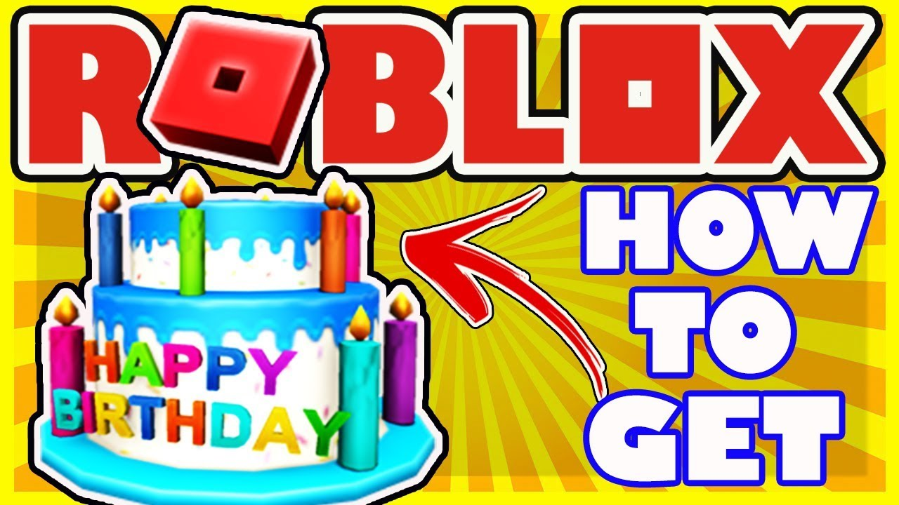 How To Get The 12th Birthday Cake Hat In Roblox Happy 12th