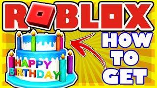 Wie man den 12. Geburtstag Kuchen Hut in Roblox - HAPPY 12. BIRTHDAY ROBLOX!