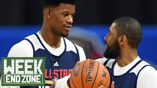 Kyrie Irving Teaming Up With Jimmy Butler In NEW YORK?! | WEZ