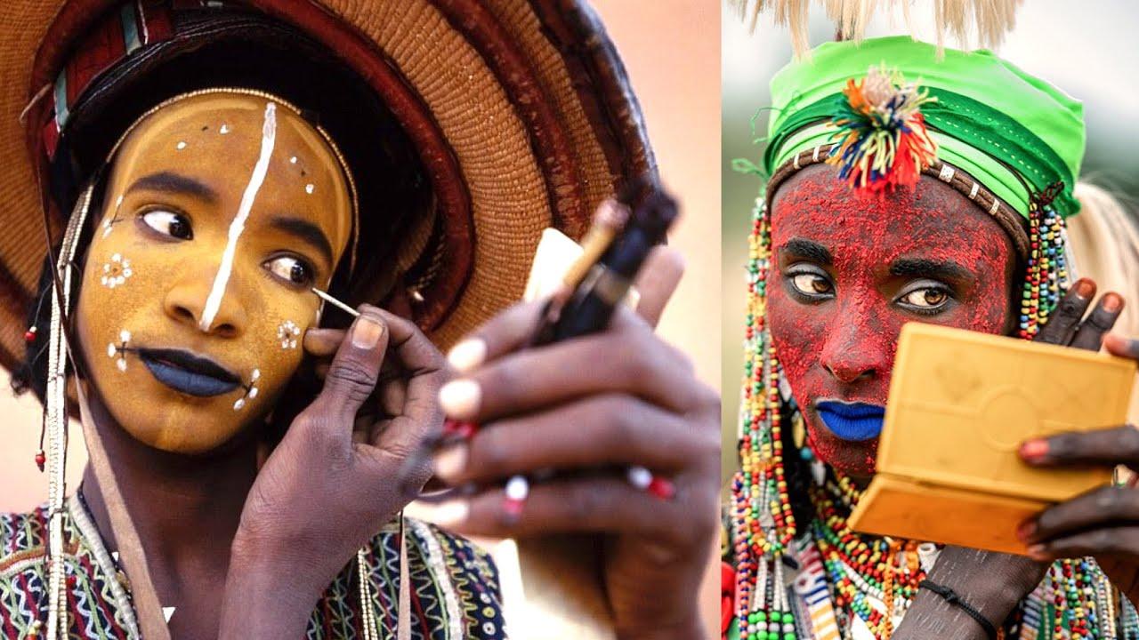 Download Meet The Wodaabe African Men Who Wear Make-Up To Attract Women | HotNaija