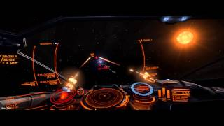 Elite: Dangerous Beta 3 - Abfangen von Kriminellen (Cobra vs. Eagle)