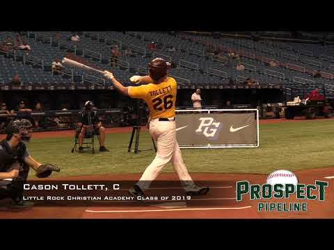 Cason Tollett Prospect Video, C, Little Rock Christian Academy Class of 2019