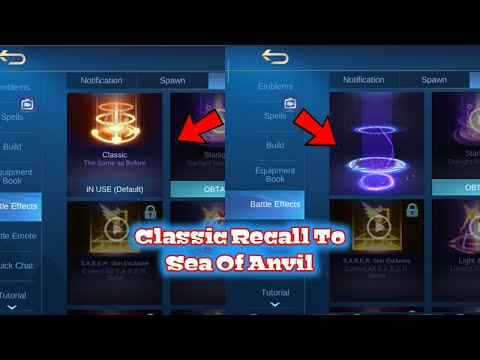 How To Change Your Classic Recall To Any Recall Animation