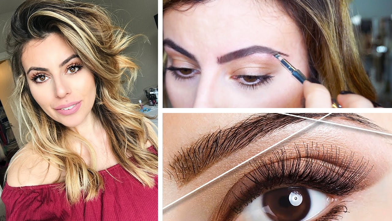 How To Do Your Own Eyebrows At Home Thread Wax Youtube