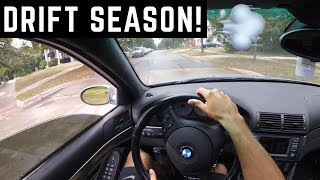 POV: BMW E39 M5 Drive (Wet Roads!)