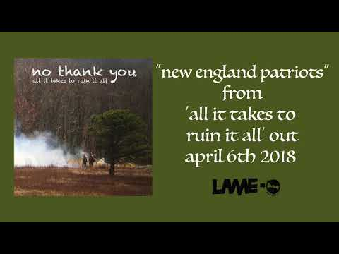 "No Thank You - ""New England Patriots"""