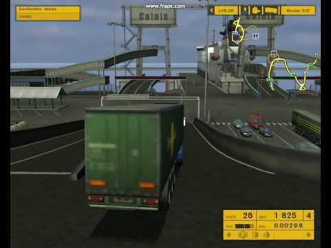 Euro Truck Simulator - Taking The Calais Ferry