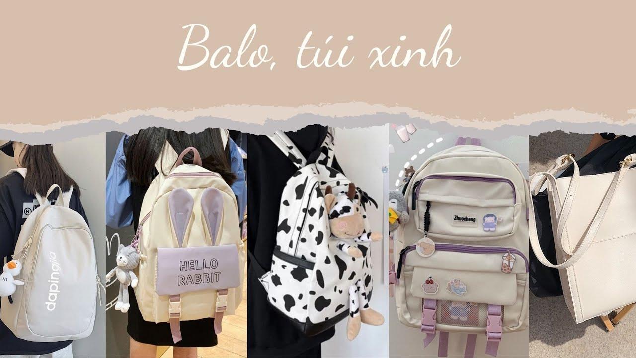 [Back to school] Tổng hợp áo balo, túi xách giá rẻ cho học sinh, sinh viên trên Shopee