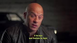 """Velozes e Furiosos 8 - Featurette """"O Futuro da Franquia"""" HD Legendado"""