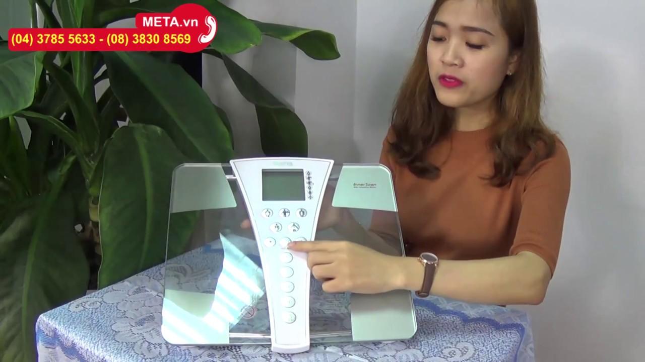 META.vn – Hướng dẫn sử dụng cân sức khỏe và phân tích cơ thể BC-587