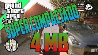 🎈 GTA SAN ANDREAS SUPER COMPACTADO APENAS 4MB PELO MEGA(nao ta funcionando)