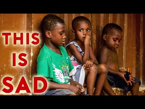 Abandoned HOMELESS Kids in Africa - Ghana Discover (Social Experiment)