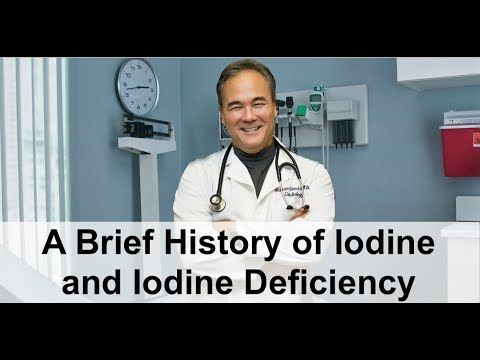 A Brief History Of Iodine And Iodine Deficiency