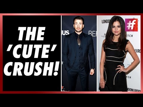 When Selena Gomez confessed she has a crush on Chris Evans ...