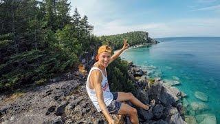 Me, myselfie stick and I - $1000 Budget Travel - North America - Canada & USA