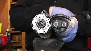 Toyota corolla,avensis,auris,celica petrol starter motor repair Denso type starter