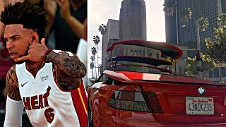 DROPPED THE TOP ON THE NEW CAR IN TRAFFIC! BREAKING ANKLES BACK TO BACK!- NBA 2K18 MyCAREER S2