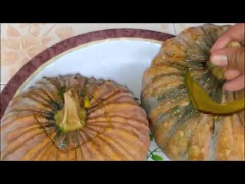 Steamed Pumpkin Custard Recipe — Dishmaps