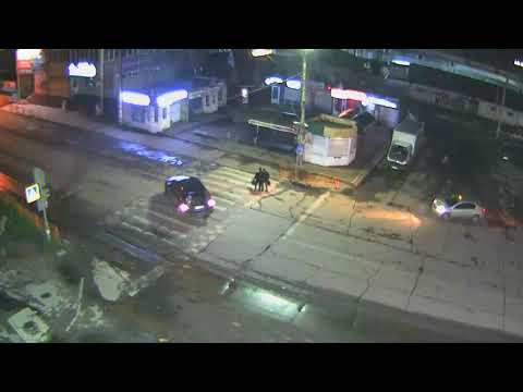 В Усть-Куте не поделили дорогу с водителем такси