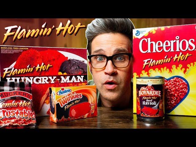 Flamin Hot Snacks Taste Test