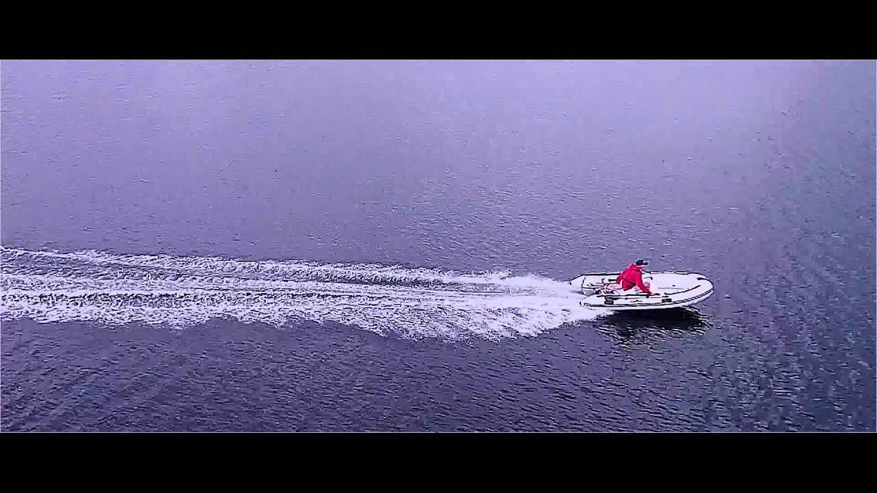 Ubrugte Greatwhite RIB330 med Sail 9.9HK motor - YouTube ZL-98