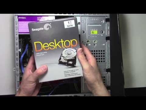 How to install a new Hard Drive in a Desktop PC