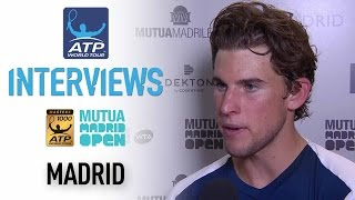 Interview: Thiem Talks About Reaching First Masters 1000 Final In Madrid