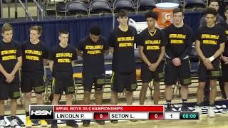 WPIAL Boys Basketball Class 3A Championship - Seton LaSalle vs Lincoln Park