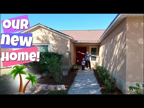 NEW HOUSE TOUR! WE MOVED TO FLORIDA!