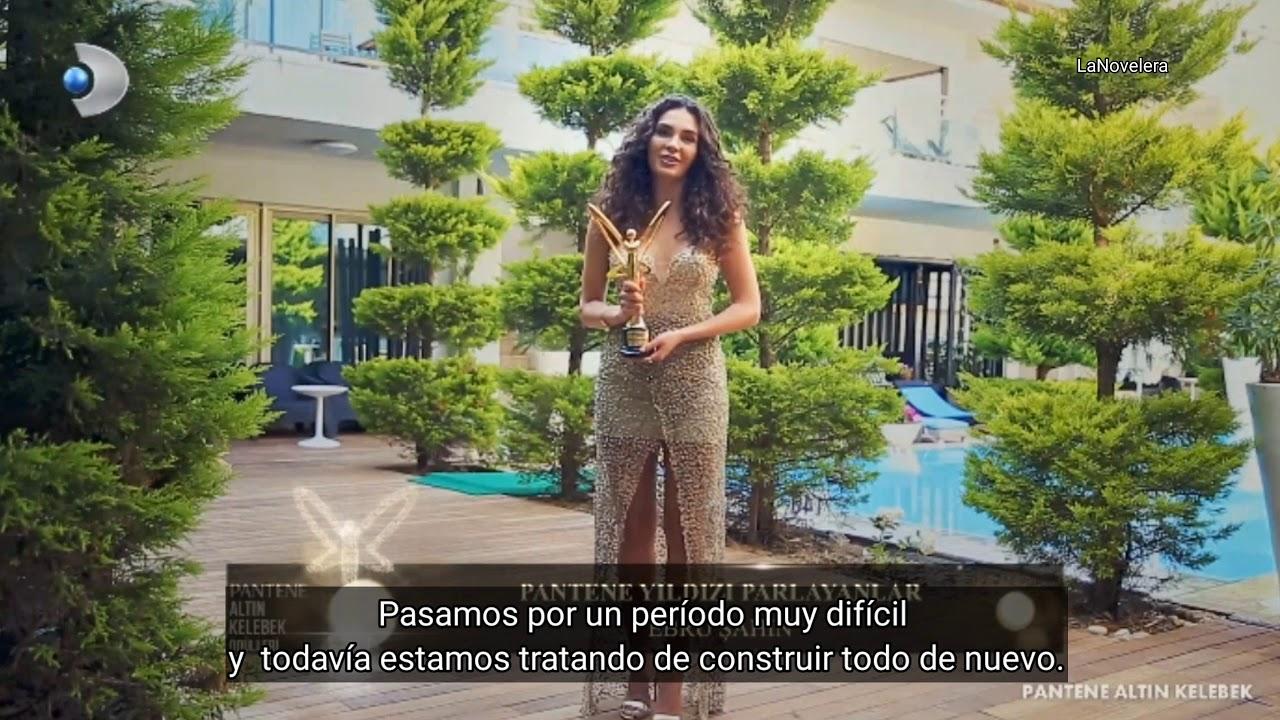 "Premio Pantene ""Mariposa dorada"" Ebru Şahin (Sub. Español)"