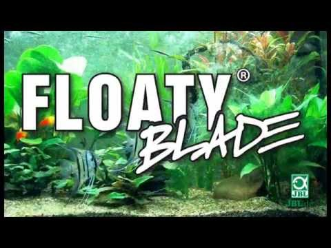 JBL FloatyBlade - Floating algae magnet for thick glass panes with a blade