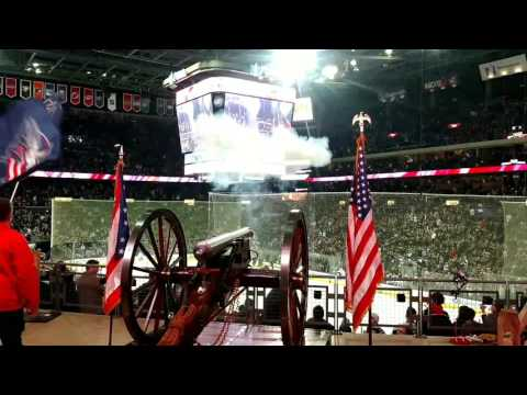 Columbus Blue Jackets Goal Celebration - Cannon View