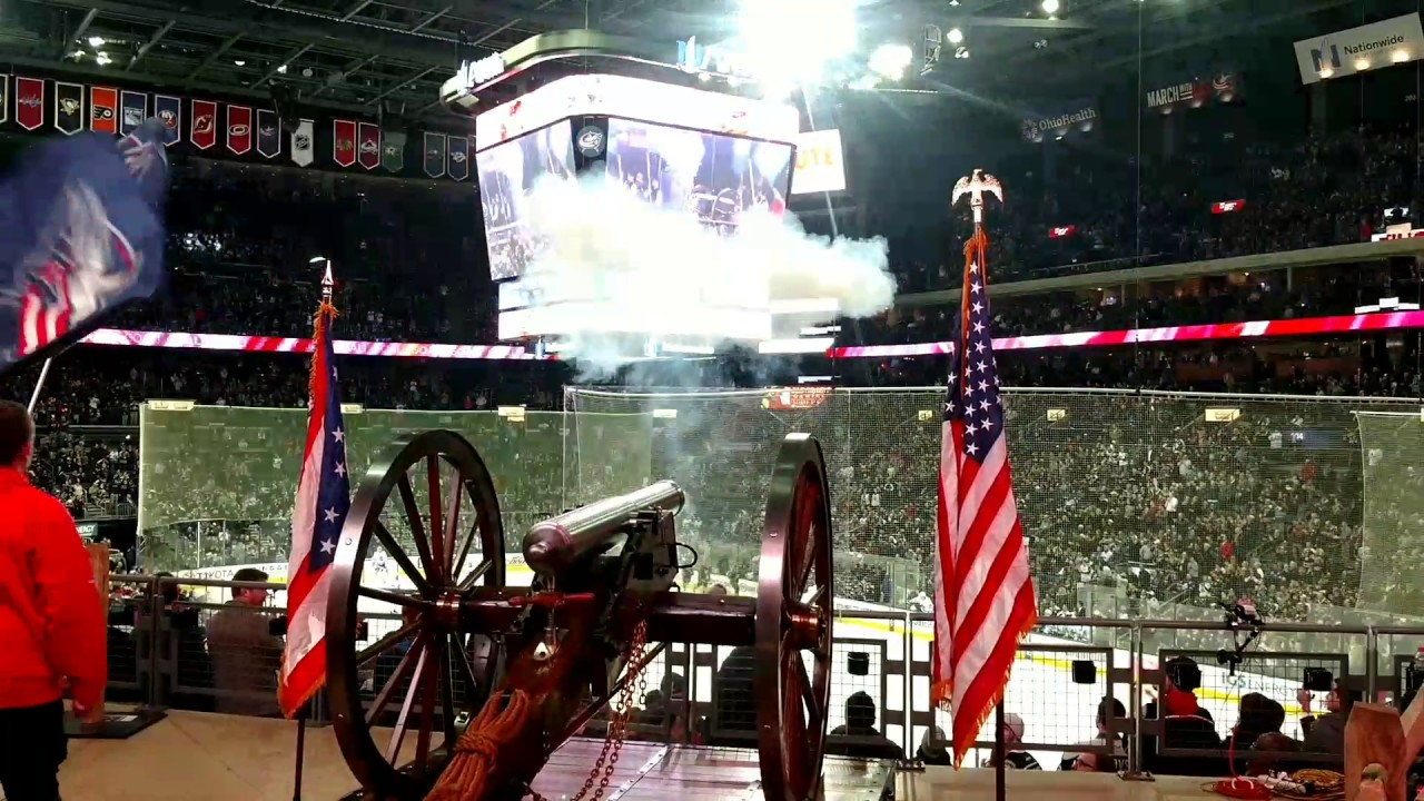 Columbus Blue Jackets Goal Celebration - Cannon View - YouTube
