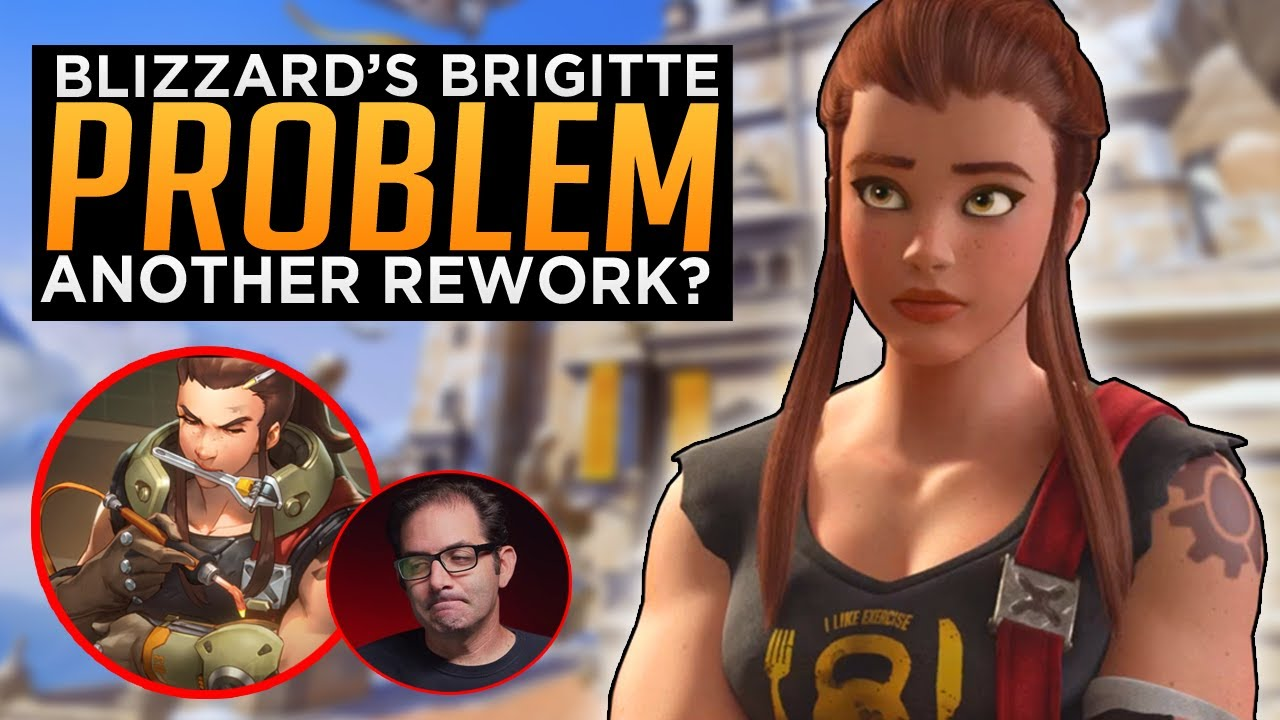 Overwatch: Blizzard's Brigitte Rework Problem
