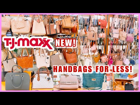 TJ MAXX SHOP WITH ME♥︎NEW FINDS‼️DESIGNER HANDBAGS AND FASHION PURSE FOR LESS❤️PURSE SHOPPING