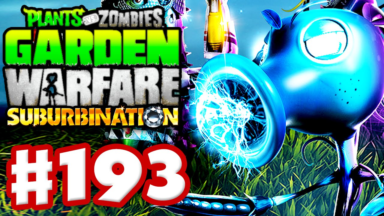 Plants Vs. Zombies: Garden Warfare   Gameplay Walkthrough Part 193   Plasma  Pea   Suburbination DLC   YouTube