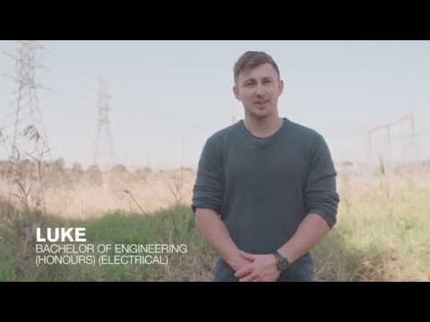 Meet Luke, a Bachelor of Engineering (Honours) (Electrical) student